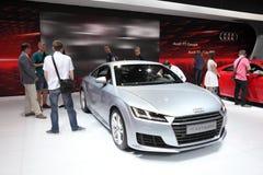 Coupé di Audi TT agli AMI Lipsia, Germania Fotografia Stock