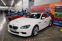 Coupé di BMW 6er F13 nel ` dell'Expo del croco del `, 2012 Fotografia Stock