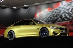 Coupé di BMW M4 agli AMI Lipsia, Germania Immagine Stock Libera da Diritti