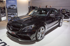 Coupé 2015 di Brabus Mercedes-AMG C63 fotografia stock