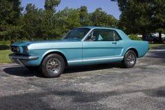 Coupé 1966 di Ford Mustang GT fotografia stock libera da diritti