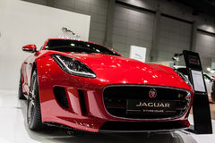 Coupé F tipo di Jaguar Fotografie Stock