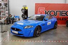 Coupé II nel ` dell'Expo del croco del `, 2012 di Jaguar XKR Fotografie Stock