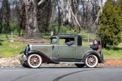 Coupé 1929 Marquette 36 Lizenzfreie Stockbilder