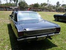 Coupé noir du GT de dard de Dodge exhibé à Lima Images libres de droits