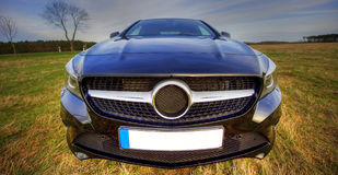 Coupé nuovissimo del CLA di Mercedes Benz Immagini Stock Libere da Diritti