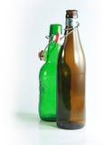 Coupé van bierflessen Stock Afbeelding