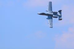 Coup de foudre A-10 Photographie stock libre de droits