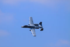 Coup de foudre A-10 Photos stock