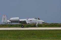 Coup de foudre A-10 Photos libres de droits
