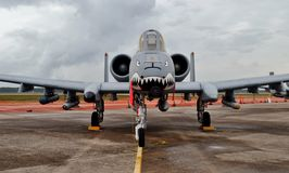 A-10 coup de foudre II/Warthog Photographie stock