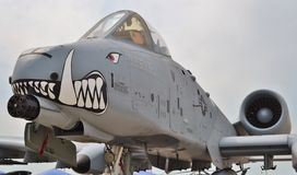 A-10 coup de foudre II/Warthog Photographie stock libre de droits