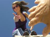 Coup de main Photos libres de droits