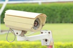 Coup de télévision en circuit fermé pour la situation de contrôle Photographie stock libre de droits