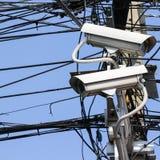 Coup de télévision en circuit fermé pour le suitation de contrôle Photographie stock libre de droits