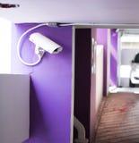 Coup de télévision en circuit fermé pour le suitation de contrôle image stock