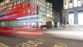 coup de temps de la faute hyper carrée de Londres Leicester banque de vidéos