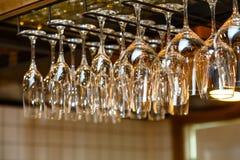 Coup en verre du plafond Image stock