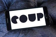 COUP eScooter Sharing Stock Photo