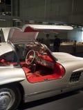 Coupé 1955 Mercedes-Benzs 300 SL Gullwing Stockbild