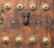 Coup sur la porte Photo stock