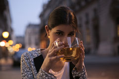 A coup of tea Stock Images