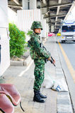 Coup in Thailand 2014 Royalty Free Stock Photos