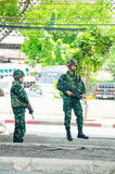 Coup in Thailand 2014 Royalty Free Stock Images
