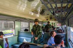 Coup in Thailand 2014 Royalty Free Stock Photography