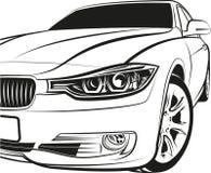 Coupe автомобиля Стоковые Изображения