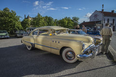 Coupe 1949 двери Buick 8 супер Dynaflow 2 Стоковые Изображения RF