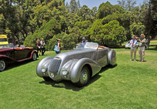 Coupe головы падения Bentley стоковые фото