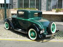 Coupe 1932 окна PA 3 Плимута Стоковое фото RF