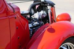 Coupe 1936 Форда на выставке автомобиля стоковые фотографии rf