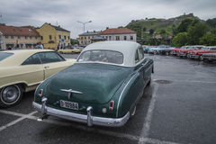 coupe 1950 Шевроле делюкс Стоковая Фотография
