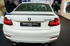 Coupe BMW M235i xDrive, мотор-шоу Женева 2015 Стоковое Изображение
