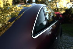 Coupe car detail Royalty Free Stock Photos