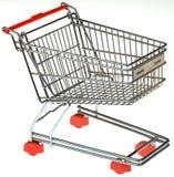 Coupe-circuit de chariot à achats Photos stock