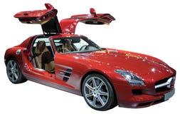 coupe czerwień odosobniona luksusowa Fotografia Stock