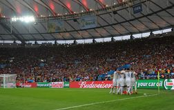 Coupe du monde 2014 Photo libre de droits
