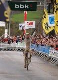 Coupe du monde 2008-2009 de Cyclocross Photo libre de droits