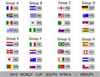 Coupe du monde 2010 Afrique du Sud Photographie stock libre de droits