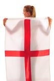 Coupe du monde 2010 - ventilateur de l'Angleterre Image libre de droits