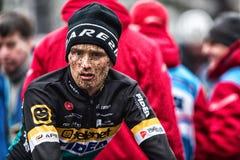 Coupe du monde d'UCI Cyclocross - Hoogerheide, Pays-Bas Photos stock