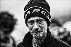 Coupe du monde d'UCI Cyclocross - Hoogerheide, Pays-Bas Photo stock