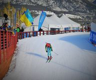 Coupe du monde de biathlon 2016 Photo libre de droits