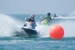 Coupe du monde de Cup de ski d'avion à réaction du Roi 2009 à Pattaya Photo stock