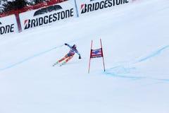 Coupe du monde de Fis de gagnant d'Aksel Lund Svindal Bormio 2013 images stock