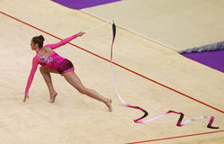 Coupe du monde de gymnastique rhythmique Photos libres de droits