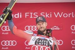 Coupe du monde de ski de freeride de Bormio 12/28/2017 Photographie stock libre de droits